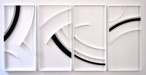 Gottfried Honegger Relief Z 1581 2012