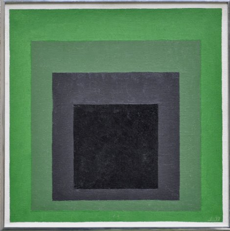 J. Albers 'Study for homage to the square' 1973